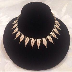 Vintage Emmons Modernist Enamel Necklace